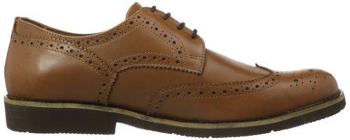Manz  NIZZA AGO, Chaussures de ville homme Marron - Braun (siena 196)