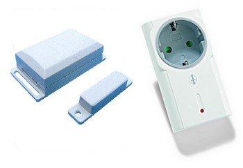 Intertechno Funk-Abluftsteuerung-Set 1500 W inkl. Funk-Steckdose ITR-1500 und Fenstersensor DFM-1000