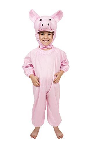 Kostüm Schweinchen Drei - Costumizate! Schweinchen Kostüm Verschiedene Größen für Kinder Kostümpartys oder Karneval