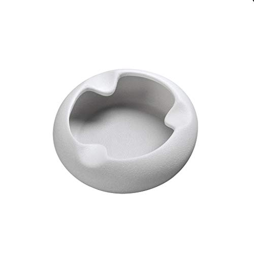 PLL Kreative Mode Aschenbecher Büro Wohnzimmer Couchtisch Einfache Weiß Haushalt Keramik Aschenbecher
