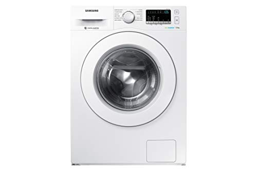 Samsung 7 Kg Fully-Automatic Front Loading Washing Machine (WW70J4243MW/TL, White)