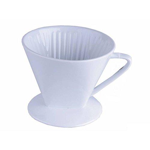 Porzellan Kaffee Filter 1x4 1 Loch Kaffeeefilter Permanent