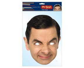 Mr Bean Official Celebrity Face Mask. The Mr Bean TV series had us all in stitches during the 1990s