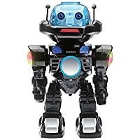 Juguetrónica Robot Interactivo con Control por Voz, Colores Surtidos (Negro o Plata) JUG0178
