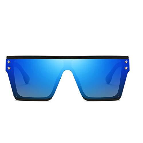 Morran Polarisierte Damen Sonnenbrille Glänzend Verbundrahmen Übergroße Sonnenbrille Vintage Retro Cat Eye Sonnenbrille