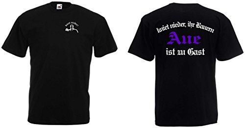 world-of-shirt Herren T-Shirt Erzegirge Aue Ultras kniet nieder