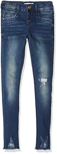 NAME IT Mädchen NKFPOLLY DNMTORI 3079 Pant NOOS Jeans, Blau (Dark Blue Denim Dark Blue Denim), 128