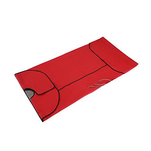 VIOY Infrarot-Negativ-Ionen-dampfende Decke nach Hause mit Wicking Allround-Tasche,rot,Einheitsgröße