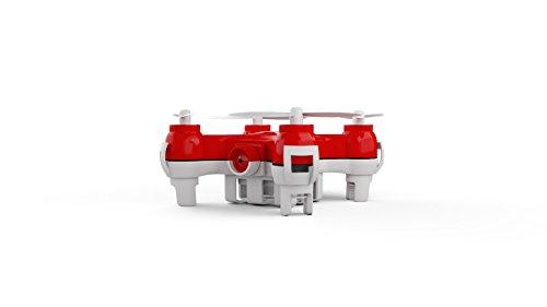 Mota Jetjat Nano camera video drone con controller a canali, rosso
