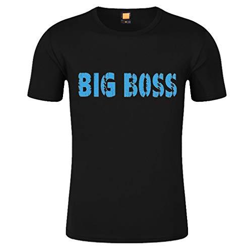 T-Shirt Herren Slim Fit Freizeitshirt Frühling Sommer Kurzarmshirt Groß Größe Männer T-Shirt...