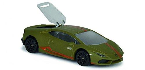 Majorette 1:64 Lamborghini Huracán Avio matt grün 6/6