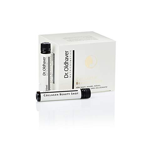 Dr. Oldhaver Collagen Beauty Shot (750ml) | 30 x 25ml Trink-Ampullen | Hoch dosiertes, bioverfügbares Kollagen-Hydrolysat | Für Nägel, Haut, Haare, Bindegewebe und Zellschutz | Monatspackung