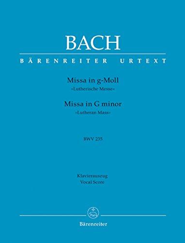 Messe sol mineur BWV 235 --- Chant(SATB)/Piano