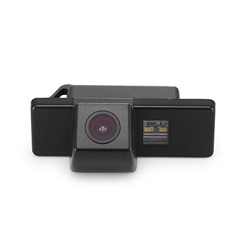 Navinio Rückfahrkamera Einparkhilfe Rückfahrsystem, Schwarz für JUke QASHQAI/Geniss/Pathfinder/Dualis/Navara