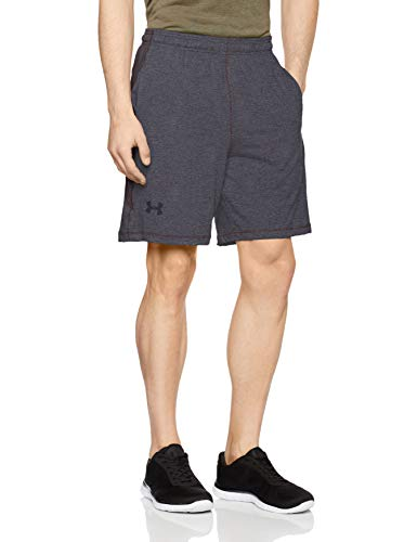 Under Armour UA Raid 8, Pantalones Cortos Deportivos para Hombre, Gris (Carbon Heather), M