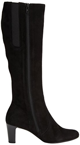 Gabor Maybe Med S, Boots femme Noir (Black Suede (Micro))