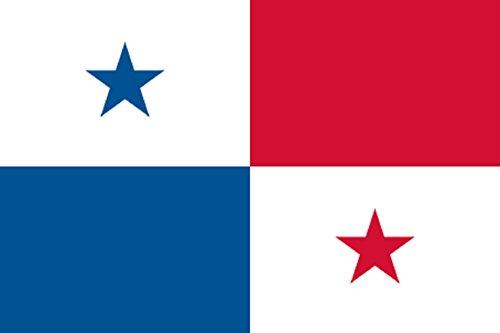 Gran Bandera de Panama 150 x 90 cm Durobol Flag Satén