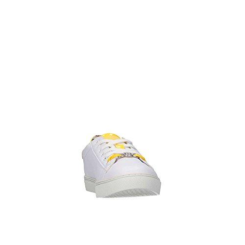 Baskets Liu-jo Girl Um22920b Pour Femme Blanc / Jaune
