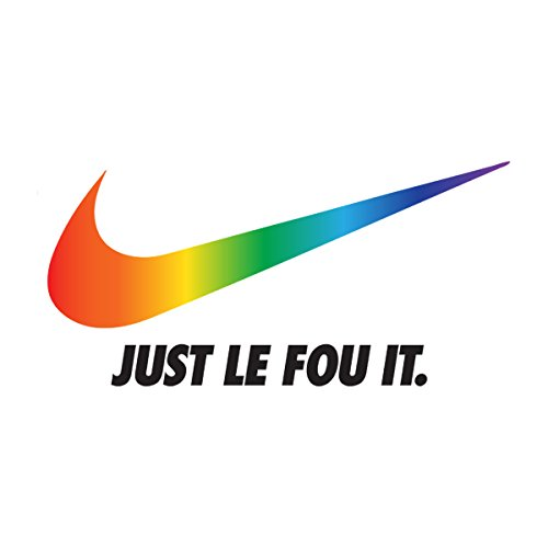 Nike Logo Just Le Fou It Beauty And The Beast Pride Men's Vest White