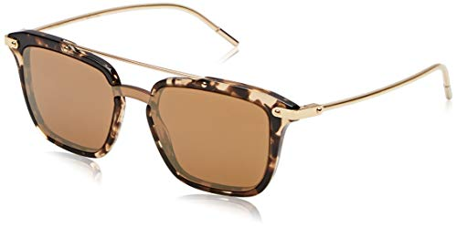 Dolce & Gabbana 0DG4327 Sunglasses, Brown (Havana Brown), 45 mm