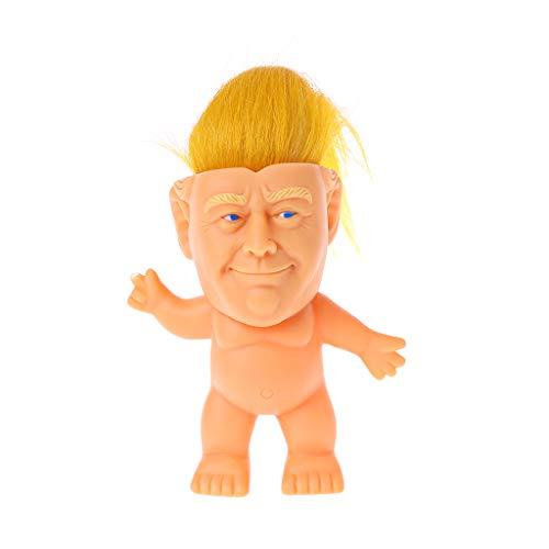 siwetg Creativo De Silicona Troll Doll Figuras De Acción Modelo Divertido Juguete Adornos Hechos A Mano Regalo De Colección para La Oficina En Casa
