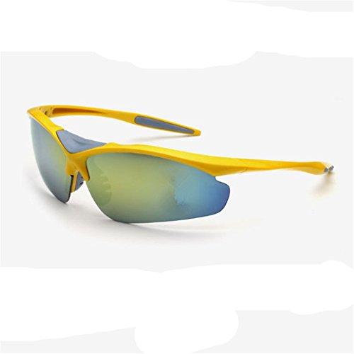 O-C Unisex's outdoor sport cycling driving fishing aviator half frame sunglasses 75mm (Flieger Kostüm Designer Der)