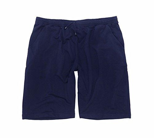 ADAMO Kurze Freizeithose - Kurze Jogginghose in dunkelblau, in großen Größen von 3XL - 12XL