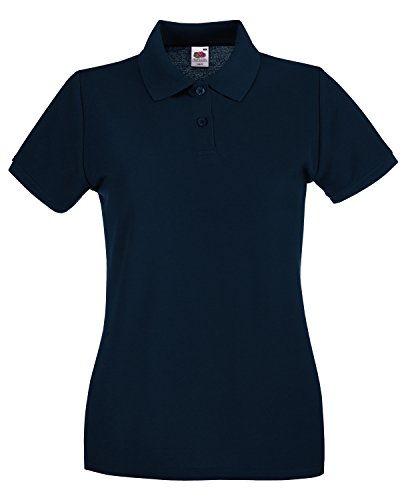 Fruit of the Loom Polo Donna Nero