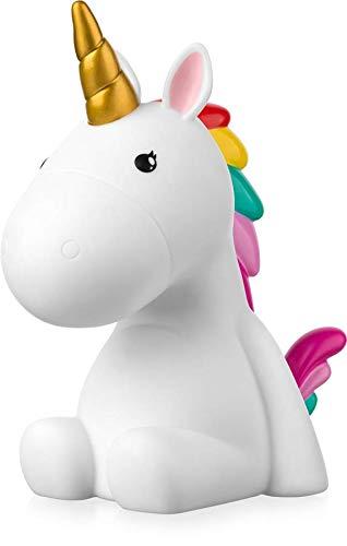 Sweet Ponies LED Nachtlicht Einhorn für Kind, Wiederaufladbare USB Touch Lampe