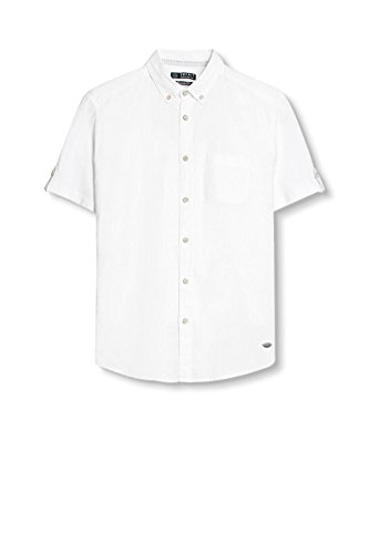 Esprit 037ee2f014, Chemise Casual Homme Blanc (White)