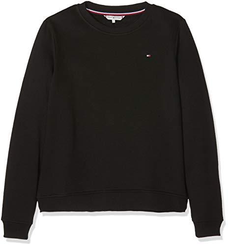 Tommy Hilfiger Louisa C-NK Sweatshirt LS, Sweat-Shirt Femme, Noir (Black Beauty 094), Small