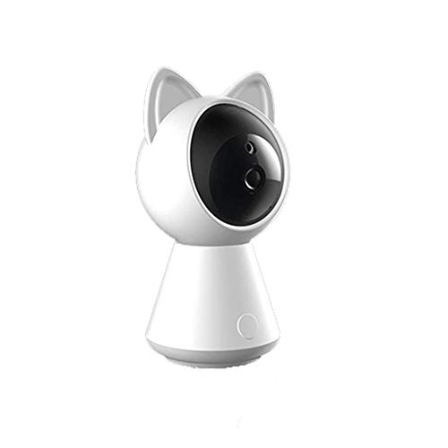 QIAOB Wireless Webcam 360 ° Drehen HD Night Vision Camera Voice Intercom Home Smart Monitor Baby Monitor (Wireless-webcams Hd)