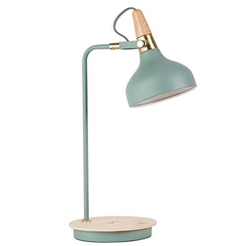ZfgG Berührungsschalter-Studenten-Schreibtisch-Lampe, kreative hölzerne Lesestudie-Schreibtisch-Lampe, mit aufladender Funktion 50cm * 18cm (Farbe : B) (Hölzerne Lampe)
