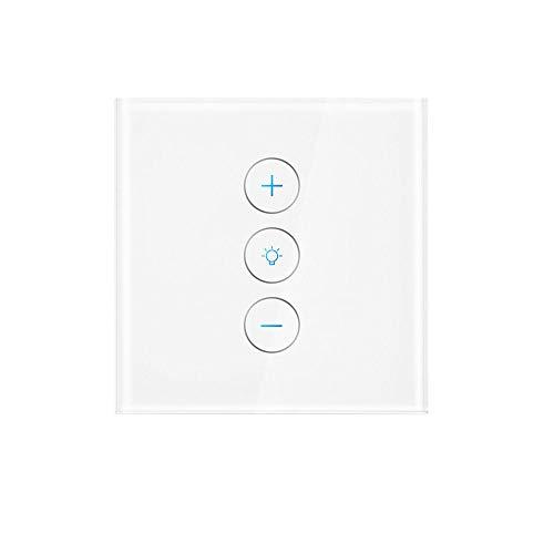 Interruptor de luz inteligente Atenuador de pared con función de temporizador Interruptor...
