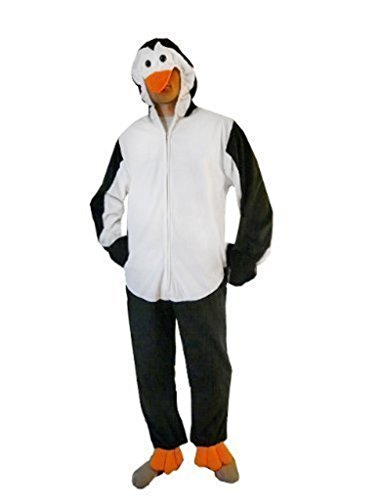 Pinguin Frauen Kostüm - Pinguin-Kostüm, J35 Gr. XL, Für hoch gewachsene Männer und Frauen! Pinguin-Kostüme Pinguine als Faschings- Karnevals Fasnachts-Geschenk für Erwachsene
