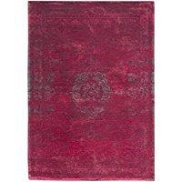 Louis de poortere Teppiche verblassen World Medaillon Design 8260Scarlet Antik Used und Faded Vintage Stil Bereich Teppiche, Rose, 170x240cm - (5'7x7'10) - Antik-stil Teppich