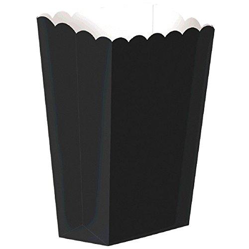 10 Popcorn Becher Schwarz (Cutouts Schwarz Halloween Und Weiß)