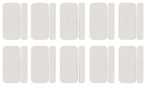 SCHWAIGER -716238-10x Tür- und Fenstersensor, ZigBee, batteriebetrieben