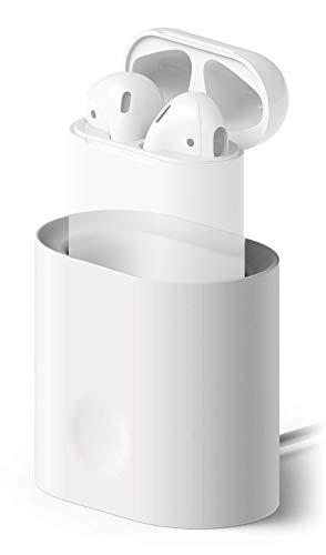 elago Airpods Charging Stand Cuffia Bianco Supporto passivo