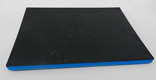 Werkzeugeinlage Systemeinlage Universaleinlage schwarz/blau (64,95 €/m²) (500 x 600 x 30 mm)