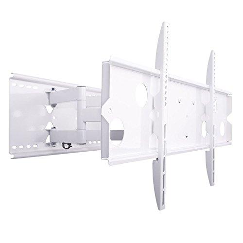 NEG Profi Universal TV-Wandhalterung Extender 5015 (weiß) Schwenk-, neig- und ausziehbar, Full Motion (bis max. VESA 600x400 und 80kg) - Universal-extender