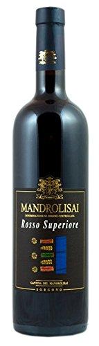 VINO ROSSO SUPERIORE MANDROLISAI DOC 75 CL x 6 bottiglie