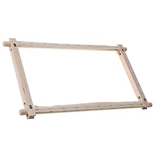 Elbesee Rotating Frame, Wood, Brown, 45 x 30 cm, 18 x 12-Inch