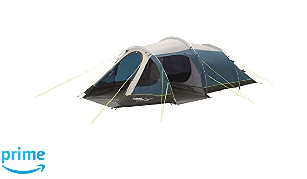 Fibreglas Breathable inner Outwell Camping Outwell Encounter Earth 5 Man Tent