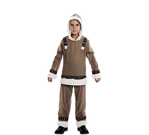 Costume da eschimese inuit per bambino t-00 (3/4 anni)