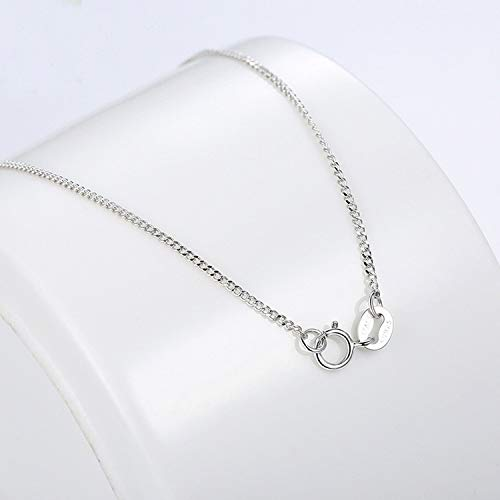 01d84b3b3328 CFHJN Home Juego de Plata de Ley Sanshi San Lucky Peach Blossom Earrings  Necklace Set Chain