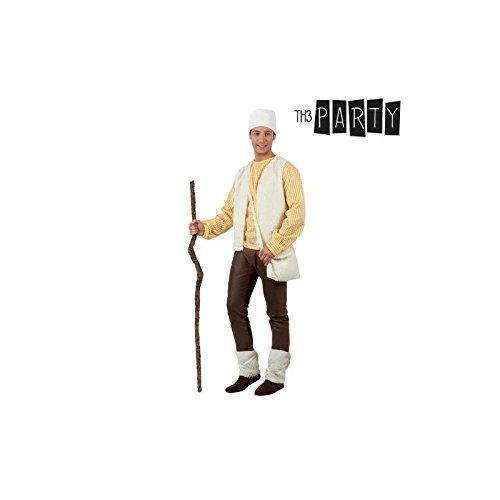 ATOSA Hirte Kostüm für Erwachsene und Weihnachten, Weiß, M-L, (32152)