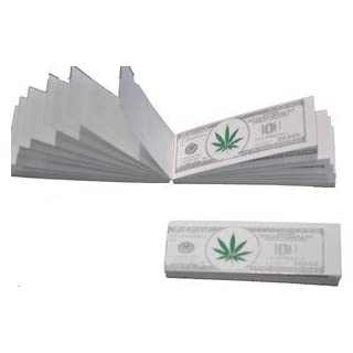 S AND S $100 Dollar Note Design Roach Filter Tips 6 Books -300 Roaches, Best Price !!! by Bargain Online