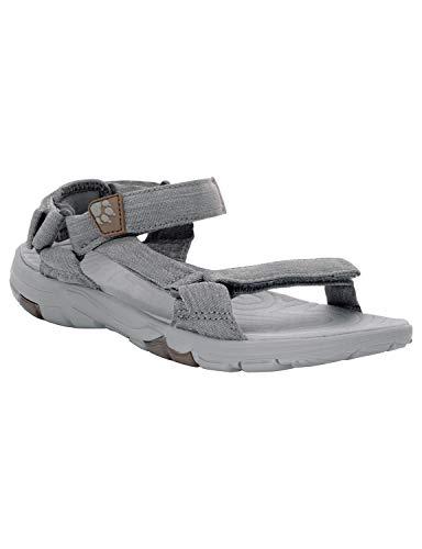 Sportliche Knöchel Unterstützt (Jack Wolfskin Damen Seven Seas 2, Sport Sandalen, Grau (Tarmac Grey 6011), 39.5 EU (6 UK))