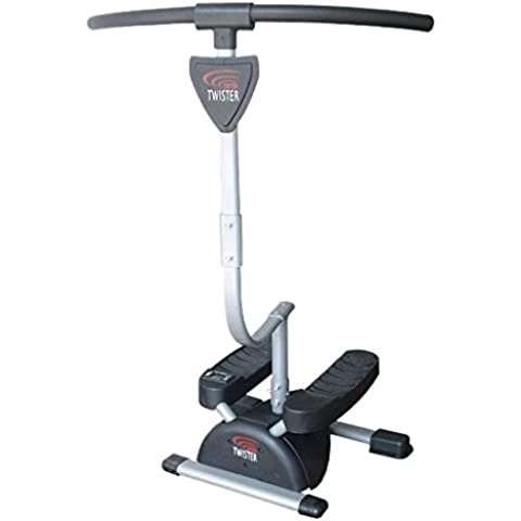 Fitness House Cardio Twister - Aparato para piernas y glúteos, color gris, talla única
